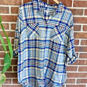 Merona Flannel Shirt NWT